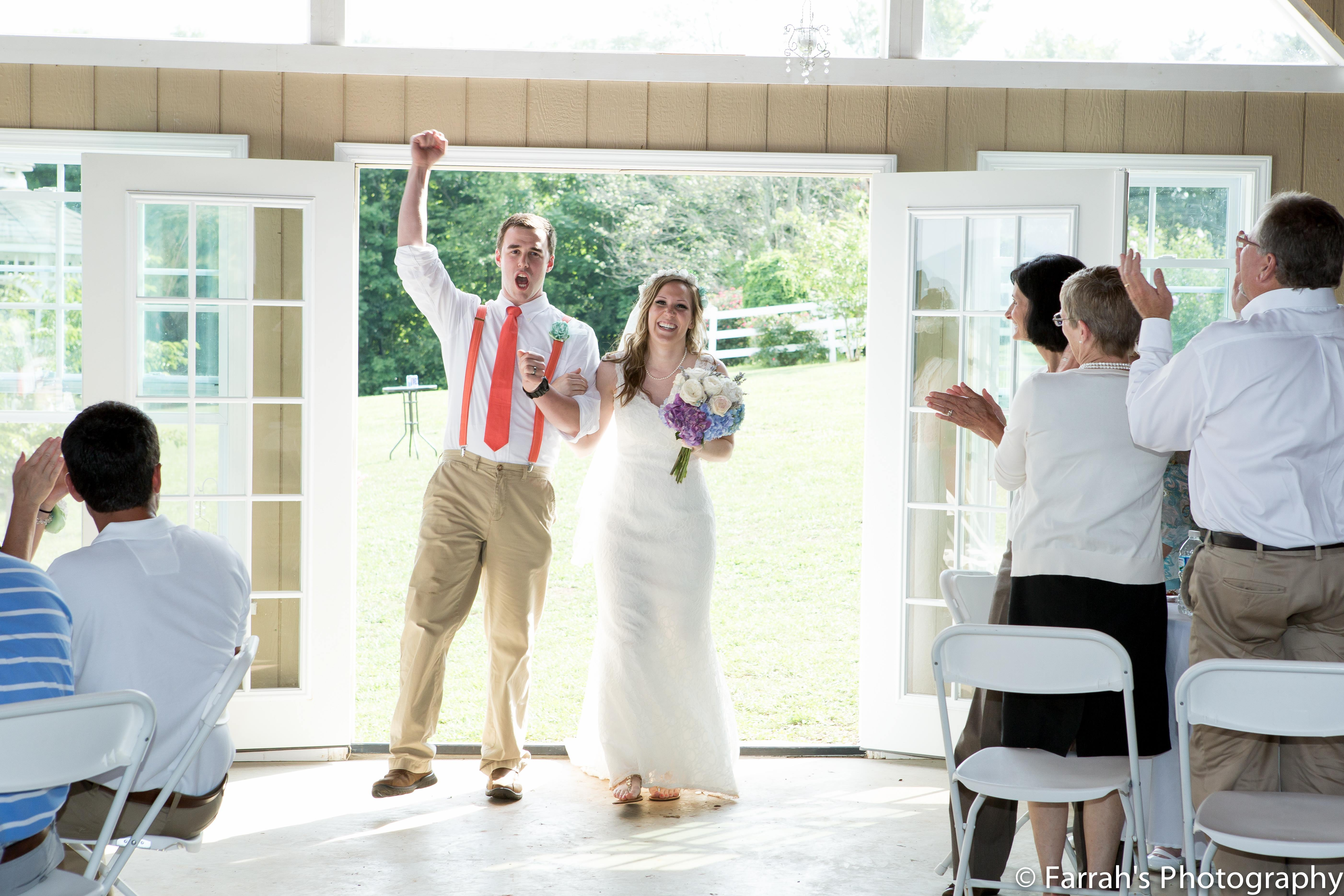 Knoxville Wedding DJ FAQ: What Do Your Announcements Sound Like?